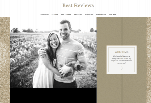 Appy Couple main editing page
