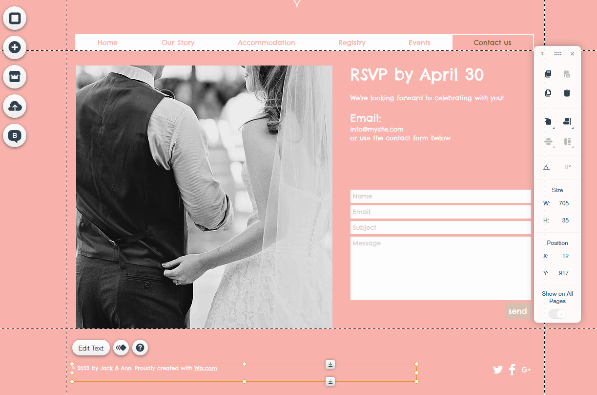 Wedding Rsvp Website.Manage Your Rsvps Like A Pro With Your Wedding Website